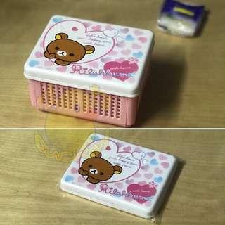 San-X 輕鬆小熊摺合儲物盒 Rilakkuma Foldable Jewelry Box Cosmetic Storage Box Organizer