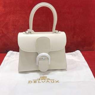 Delvaux mini white