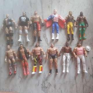 WWE Used Elite Figures $15 each