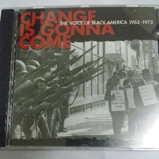 Music CD: Various–Change Is Gonna Come: The Voice Of Black America 1963-1973 - Classic Soul, Funk Compilation, Kent Records