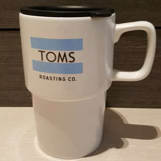 TOMS陶瓷咖啡杯 Toms Roasting Co. Ceramic Travel Mug