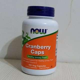 全新美國Now紅莓丸 100粒膠囊裝