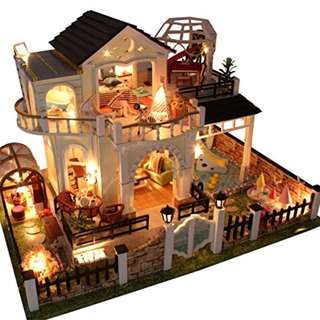 DIY miniature doll house with lights and music - Elixir Of Love