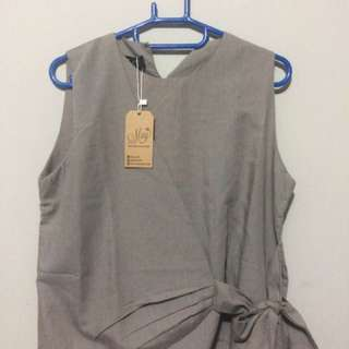 (NEW) May Outfit Grey Top