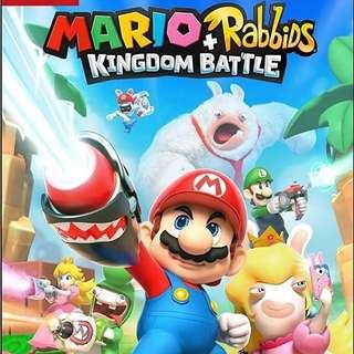 Mario + Rabbids Kingdom Battle (Chi & Eng) 瑪利奧 + 賤兔 王國大戰 (中英文合版) for Nintendo Switch NSW-0133
