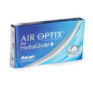 Alcon air optix hydraglyde monthly disposable contact lens