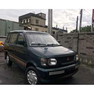 售 1999年 中華三菱 FREECA 2.0 一手車 實跑 11 萬公里