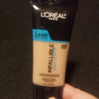 Loreal 24HR Infallible Foundation SPF15 - Sun Beige