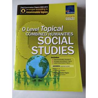 Social Studies O level Topical combined Humanities