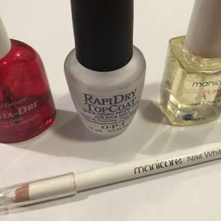 Nail care/ topcoat set