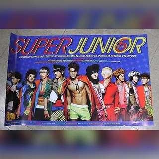 Super junior SJ Mr simple poster 海報
