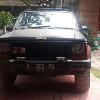 Cherokee limited 1996 4x4 mulus