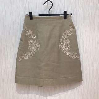 Majestic legon skirt 米色半身裙