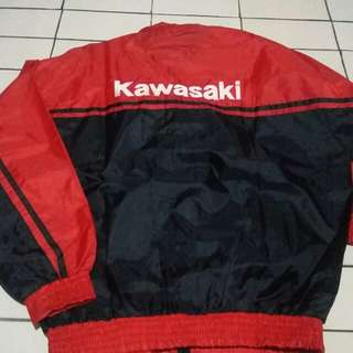 Jaket Parasut Kawasaki