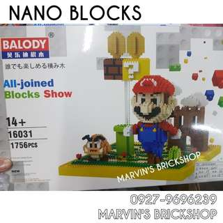 For Sale BALODY Nano Building Blocks Toy