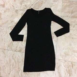 Cotton On Sexy Black Dress
