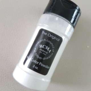 RCMA No Color Powder #Not MUFE, Laura Mercier, L'oreal, Milani, Coty, Nyx, Tarte, Glossier