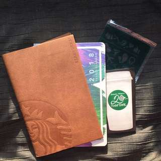 Starbucks Planner 2018 tan