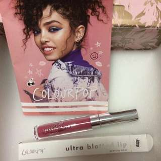 Authentic Colourpop Ultra Blotted Liquid Lipstick in Slide