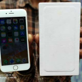 Iphone 6 64Gb Gold fulshet mulus no minus kamera silent LL/A