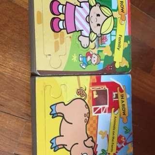 Pre-loved puzzle books (2 books)