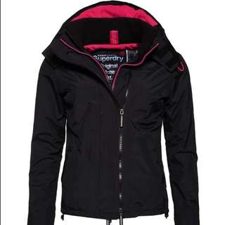 Superdry極度乾燥女裝外套Pop Zip Hooded Arctic SD-Windcheater Jacket