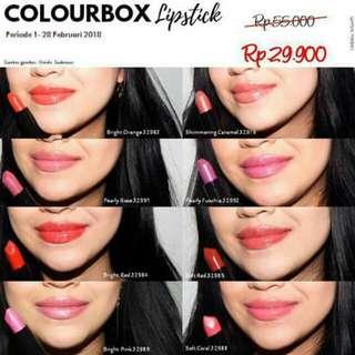 Colourbox oriflame