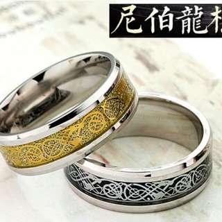 尼伯龍根紋指環大气性, 霸气金銀色指環,歡迎預訂。 ,有興趣請pm我