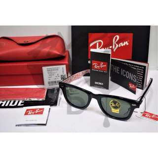 Ray Ban Wayfarer Rareprint RB2140A 1017 50MM.