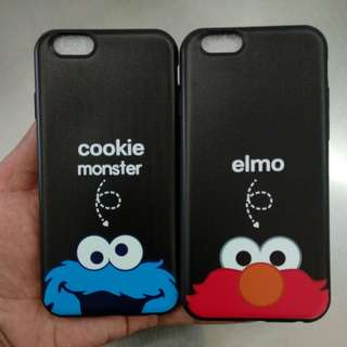 Elmo & Cookie Monster Case For iPhone 6 6s