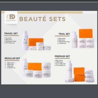 Beautederm Beauty Set