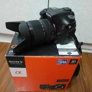 【出售】SONY SLT-A77 數位單眼相機 公司貨 盒裝完整
