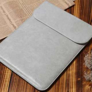 Korea Ultra Slim Naked Leather MacBook Laptop Sleeve Case