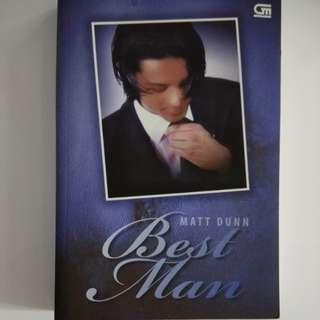 Buku Best Man - Matt Dunn
