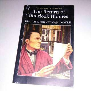 Novel Sherlock Holmes (English Version) MURAH