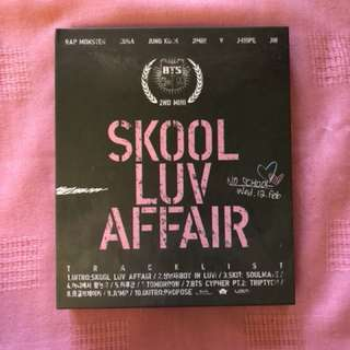 [Free Shipping!] BTS- 2nd mini : Skool Luv Affair
