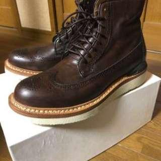 Visvim Patrician Boots Folk GRIZZLY VIRGIL 73 VALENTINO MAISON MARGIELA APC TRICKERS NEIGHBORHOOD WTAPS SOPHNET COMMON PROJECTS HOCKNEY FBT ALDEN GRENSON RED WING Y3
