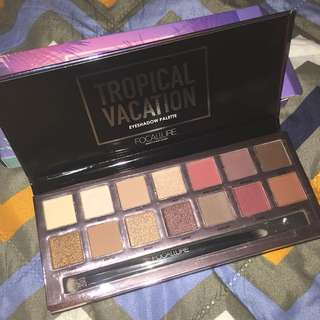 Authentic Focallure Tropical Vacation Palette