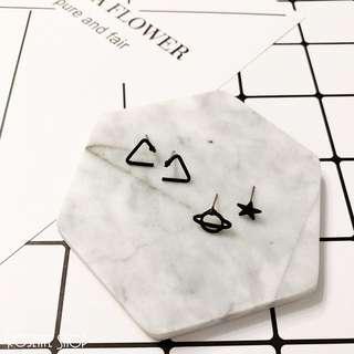 🚚 [全新現貨]歐美簡約造型耳環