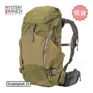 現貨 Mystery Ranch Scapegoat 25 Backpack 背囊 Arcteryx Arro 22 Liquiproof visvim wtaps arro22 旅行袋