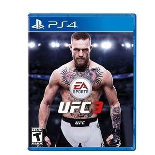 (PS4)EA SPORTS UFC 3