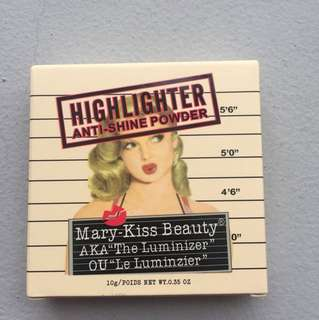 Highlighter The Balm Manizer Sister Mary