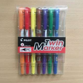 Pilot Twin Markers