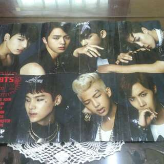 poster BTS n CNBLUE