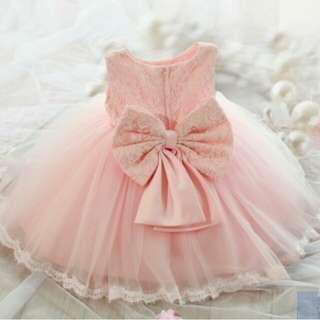 Princess Dress baby pink