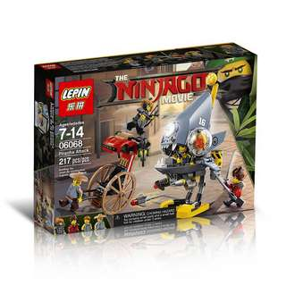 LEPIN 06068 Ninjago Movie Piranha Attack