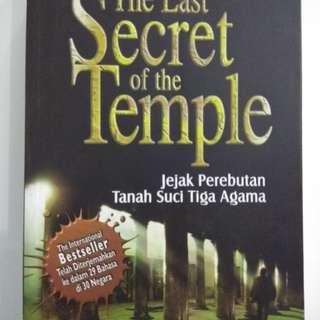 Buku The Last Secret of the Temple - Paul Sussman