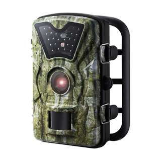 "Trail Camera, [New Version] VicTsing HD Infrared Game&Trail Camera with 24 Black LEDs 8MP 720P 2.4"" LCD Screen IP66 Waterproof Hunting Scouting Cam Great for Night Vision Wildlife Monitoring, Surveillance, Home Security etc - Camouflage Color  -- 585"