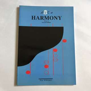 ABC of harmony book b