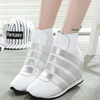 Single leather korea fashion casual & fashion sport boots